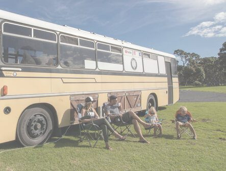 Downsizing Families: Your House, or Your Life? Bus Family. The Leveraged Mama.