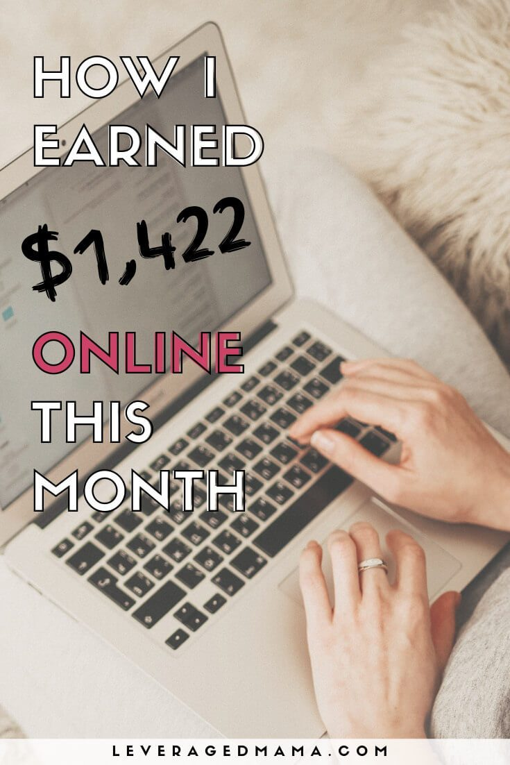February 2019 online income report. The Leveraged Mama.