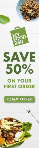 Save 50% on your first order from My Food Bag.